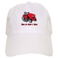This Is How I Roll Mower Baseball Cap