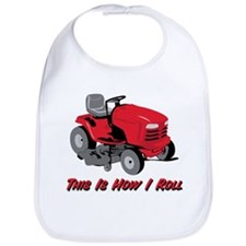 This Is How I Roll Mower Bib