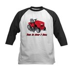 This Is How I Roll Mower Kids Baseball Jersey
