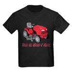 This Is How I Roll Mower Kids Dark T-Shirt