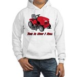 This Is How I Roll Mower Hooded Sweatshirt
