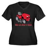 This Is How I Roll Mower Women's Plus Size V-Neck