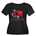 This Is How I Roll Mower Women's Plus Size Scoop N