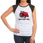 This Is How I Roll Mower Women's Cap Sleeve T-Shir