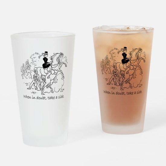 When in doubt.JPG Drinking Glass