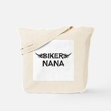 Biker Nana Tote Bag