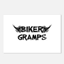 Biker Gramps Postcards (Package of 8)
