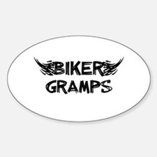 Biker Gramps Decal