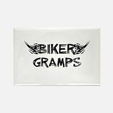 Biker Gramps Magnets