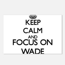 Keep calm and Focus on Wa Postcards (Package of 8)