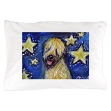 Cute Soft coated wheaten terrier Pillow Case