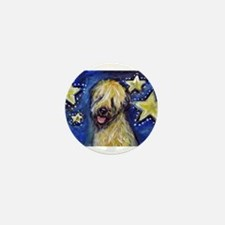 Cute Wheaten terriers Mini Button