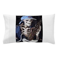 Skinny Skeleton Rocks On Pillow Case