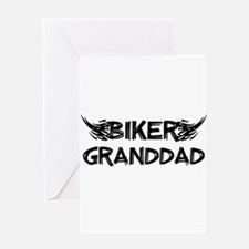 Biker Granddad Greeting Cards