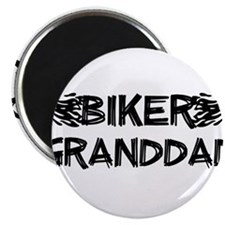 Biker Granddad Magnets