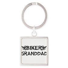 Biker Granddad Keychains