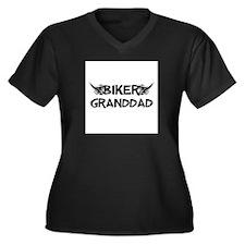 Biker Granddad Plus Size T-Shirt