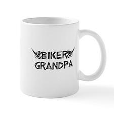 Biker Grandpa Mugs