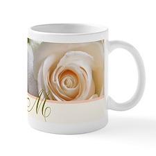 Beautiful Rose and Monogram Mugs