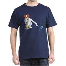 Jack Russell Terrier Curling T-Shirt