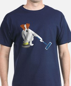 Jack Russell Terrier Curling T-Shirt