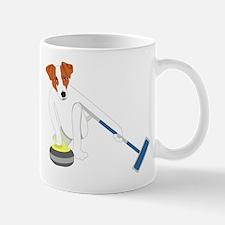 Jack Russell Terrier Curling Mug