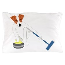 Jack Russell Terrier Curling Pillow Case