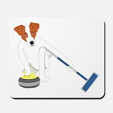 Jack Russell Terrier Curling Mousepad