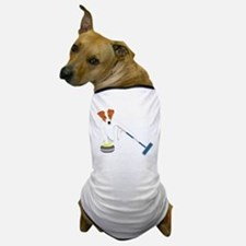 Jack Russell Terrier Curling Dog T-Shirt