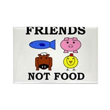Cute Cows Rectangle Magnet (10 pack)