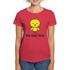 Pole Vault Chick Tee