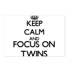 Keep calm and Focus on Tw Postcards (Package of 8)