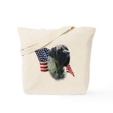 Mastiff (brn) Flag Tote Bag