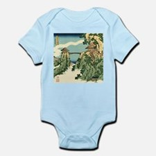 Bridge in the Clouds by Hokusai Body Suit