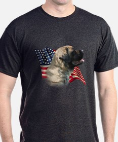 Mastiff(flf) Flag T-Shirt