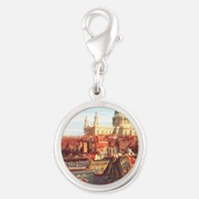 London boats on River by Canaletto Charms