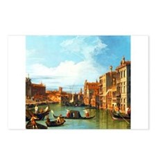 Grand Canal in Venice by Canaletto Postcards (Pack