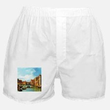Grand Canal in Venice by Canaletto Boxer Shorts