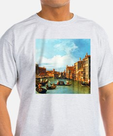 Grand Canal in Venice by Canaletto T-Shirt