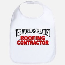 """The World's Greatest Roofing Contractor"" Bib"