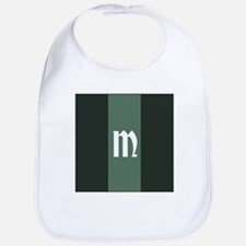 Living Waters Stripes Monogram Bib
