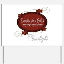 Edward and Bella Collection Yard Sign