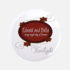 "Edward and Bella Collection 3.5"" Button"
