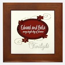 Edward and Bella Collection Framed Tile
