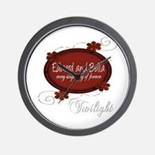 Edward and Bella Collection Wall Clock