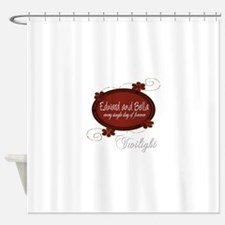 Edward and Bella Collection Shower Curtain