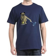 Pug Curling T-Shirt