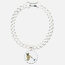 Pug Curling Bracelet