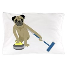 Pug Curling Pillow Case
