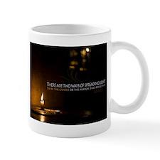 Two ways to spread light Mug